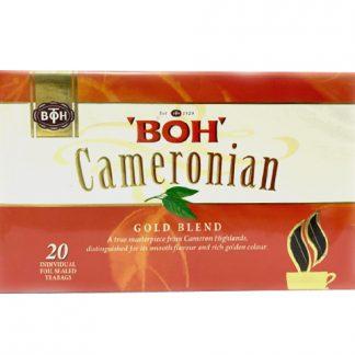 マレーシア高級キャメロン紅茶BOH teaティーバッグ