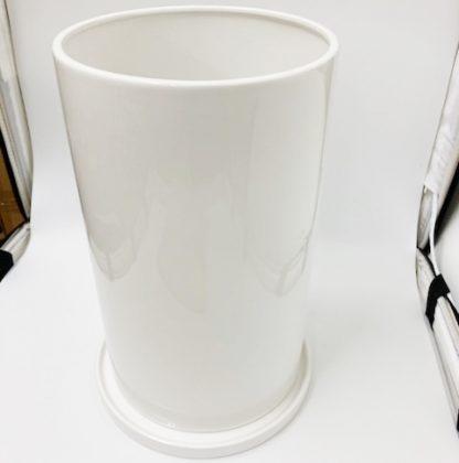 植木鉢プランター白シンプルモダン大きいサイズ大型室内オシャレ陶器