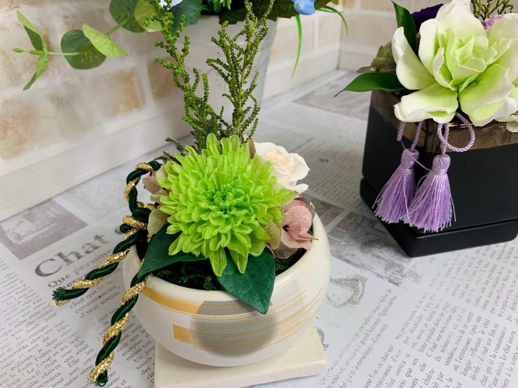 ツヤなしの和風植木鉢卯月-うづき-(使用例)