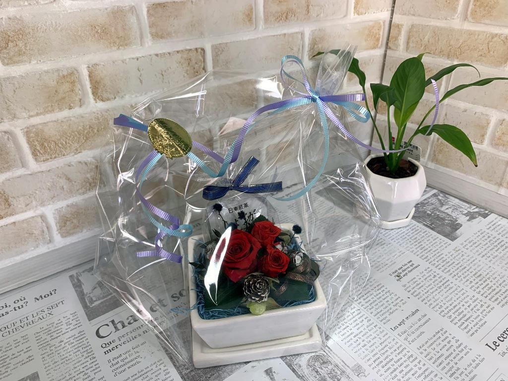 植木鉢のプレゼント
