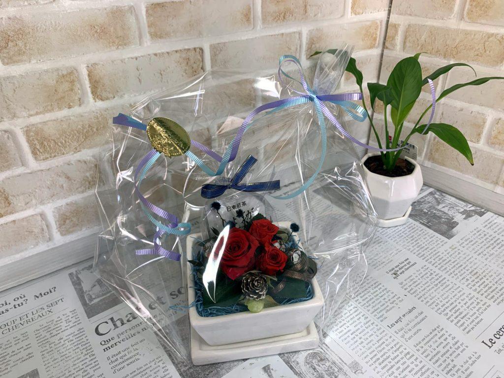 母の日のギフト植木鉢