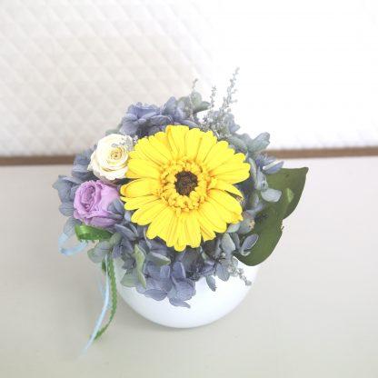 母の日ギフト母の日プレゼントおしゃれプリザーブドフラワーホワイト植物花贈り物
