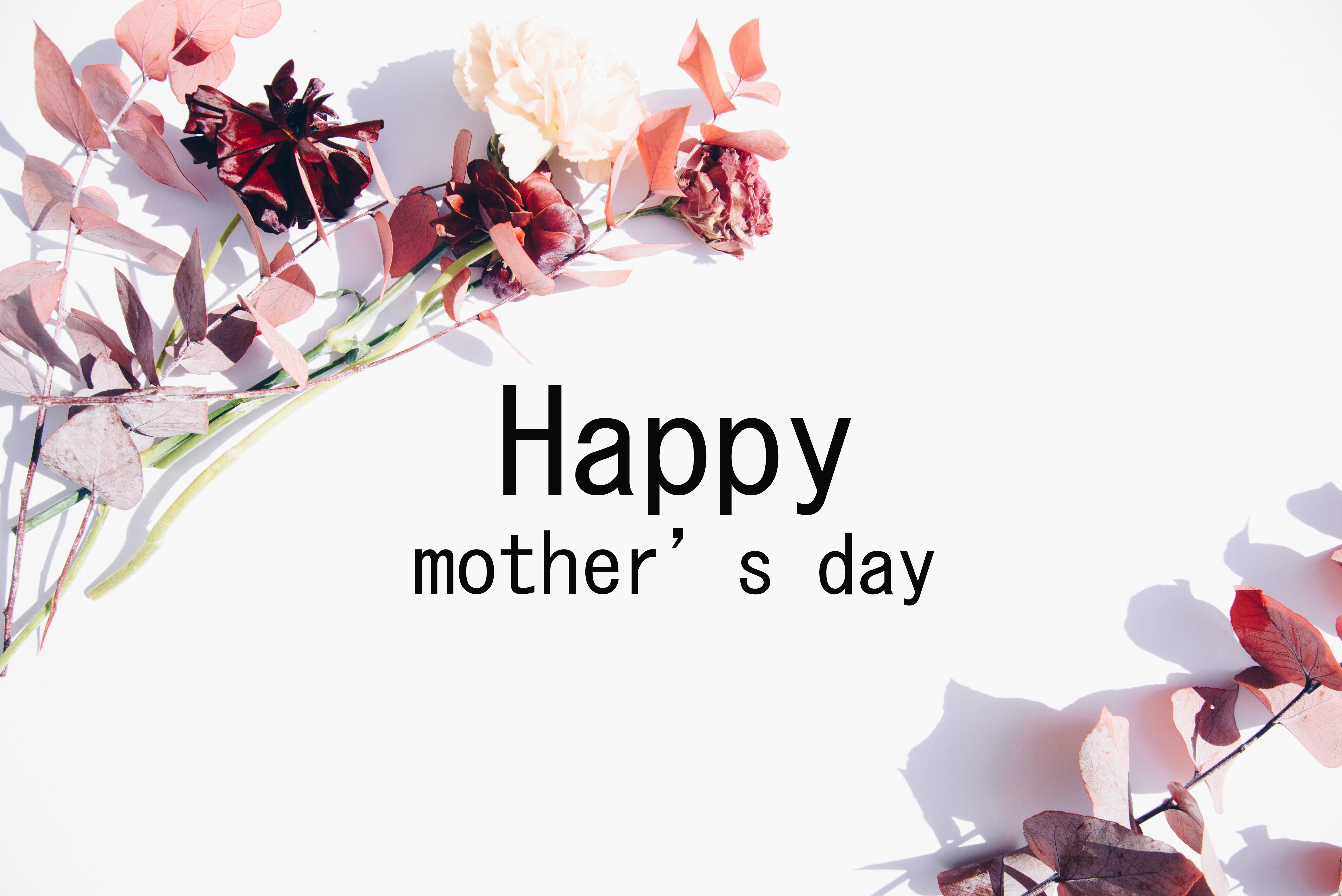 母の日お母さん花ギフトセットメッセージカードプリザーブドフラワー